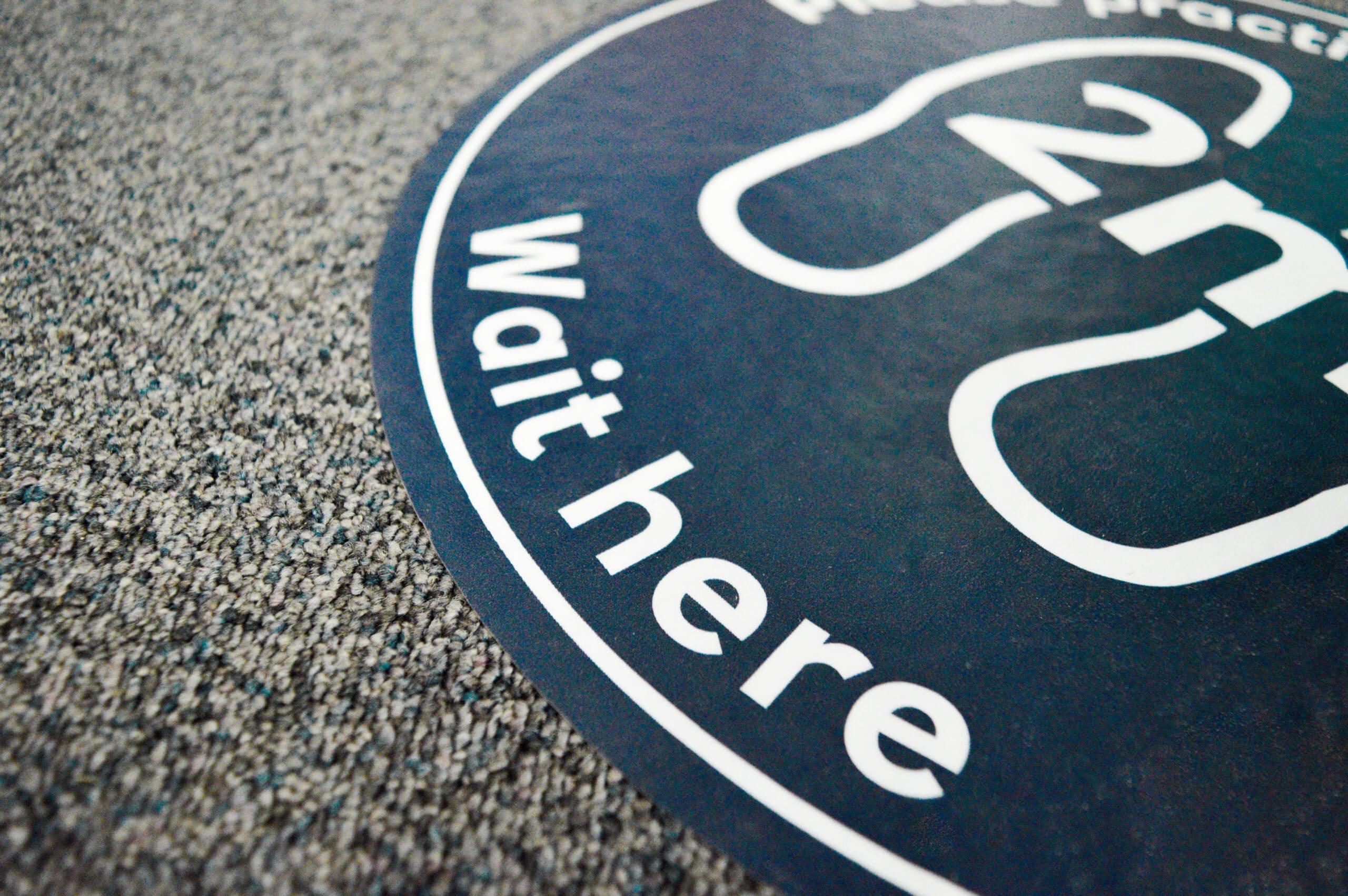 printed floor graphics