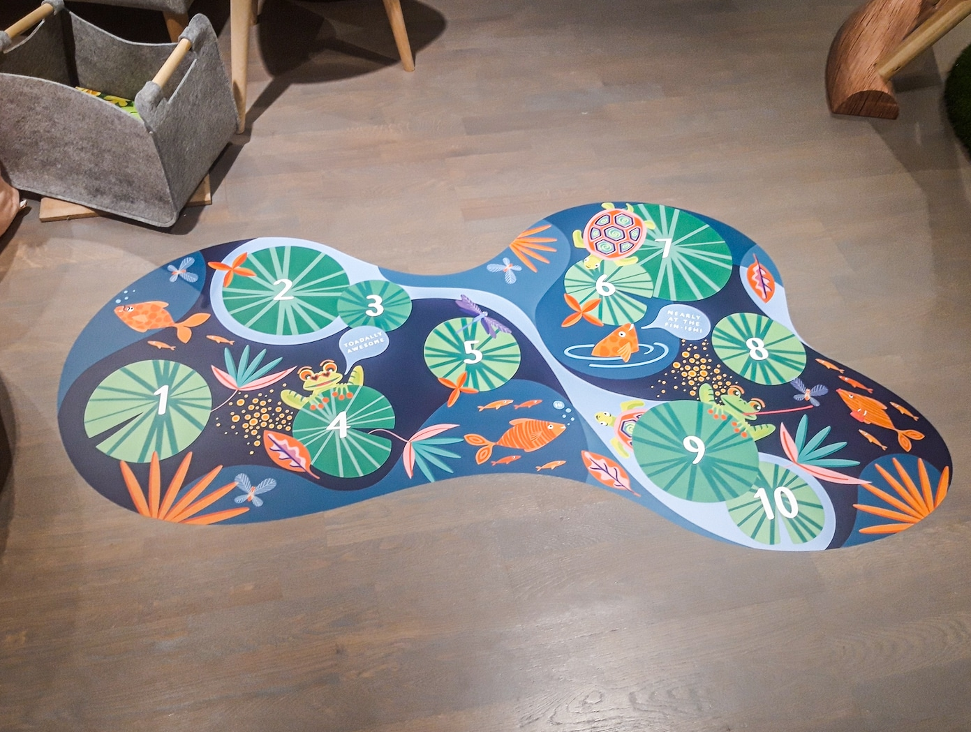 custom printed floor graphics