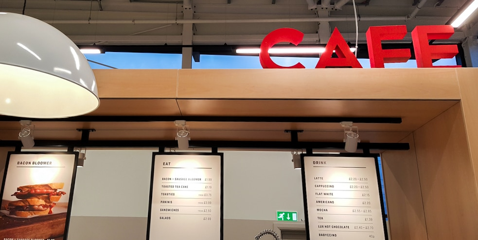 Internal Signage for Retail