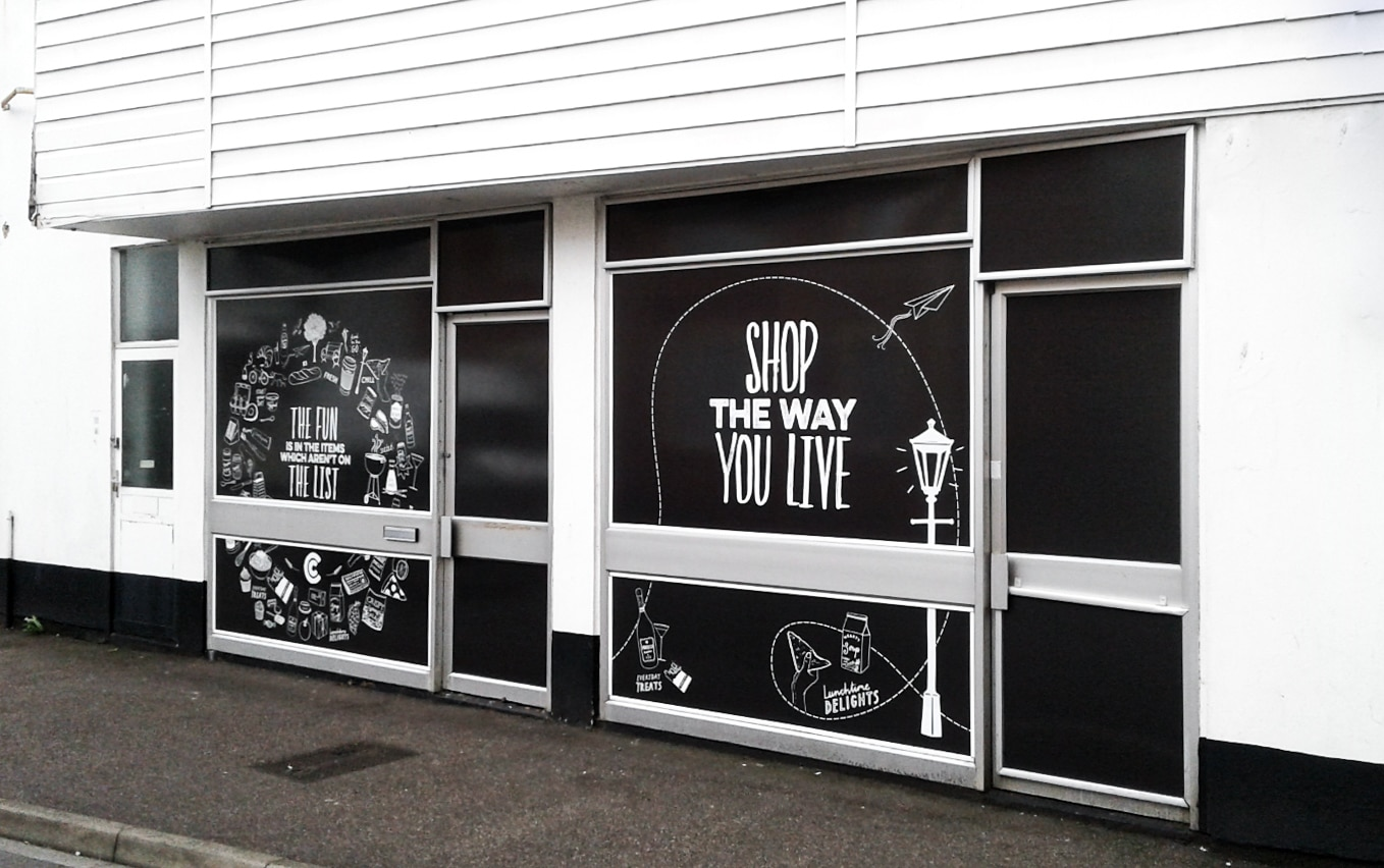 External and window graphics