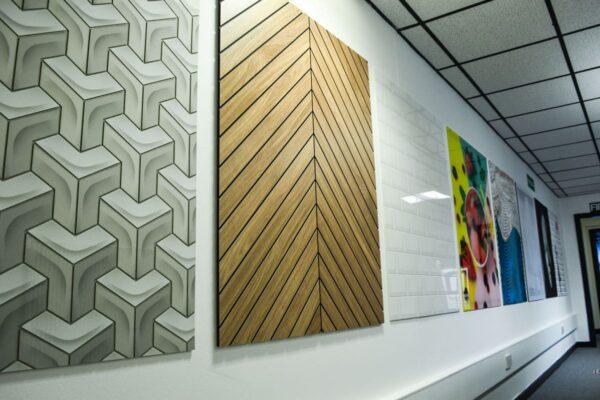 fake wood wall